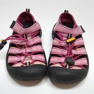 Keen Girls Pink Youth/Toddler Water Shoes/Sandals